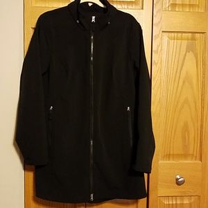 Black 3/4 length Jacket Size 2XL
